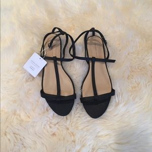 Zara sandals.  Brand new with tag. Size 7.5
